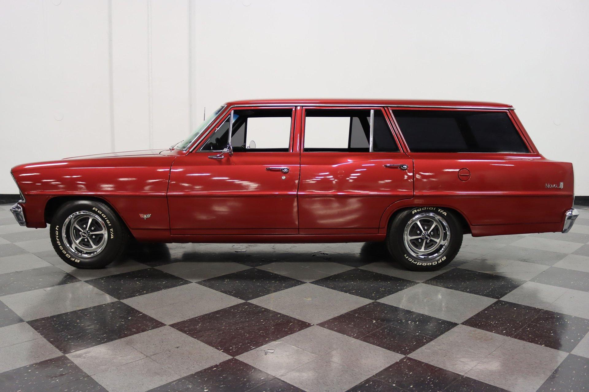 1967 chevrolet nova chevy ii wagon
