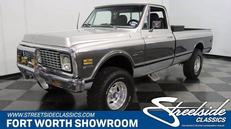 For Sale: 1971 Chevrolet K10