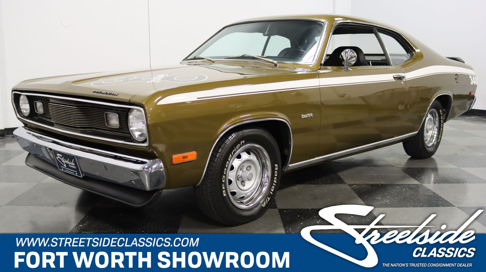 1972 plymouth duster 340 tribute