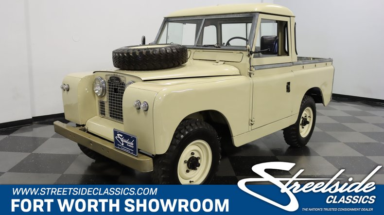 For Sale: 1966 Land Rover Series IIA
