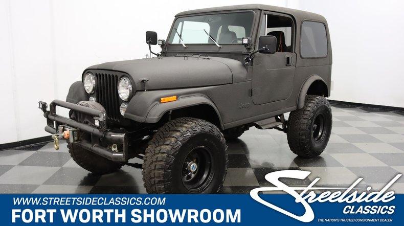 For Sale: 1985 Jeep CJ7