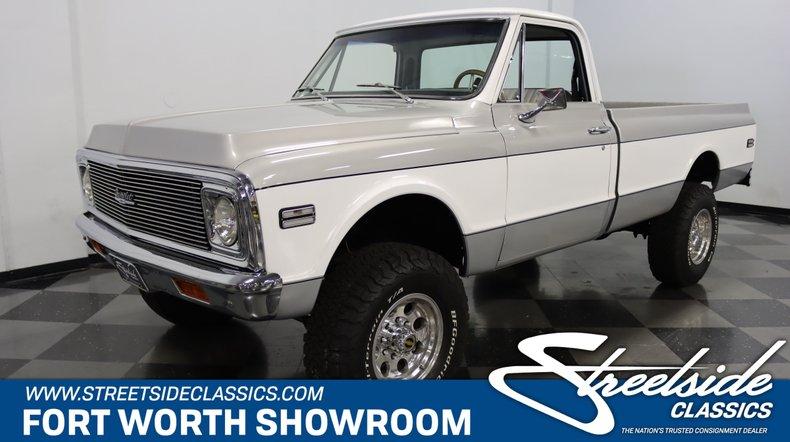 For Sale: 1972 Chevrolet K20