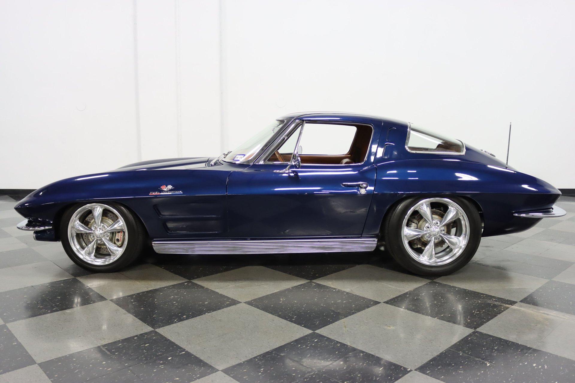 1963 chevrolet corvette split window resto mod
