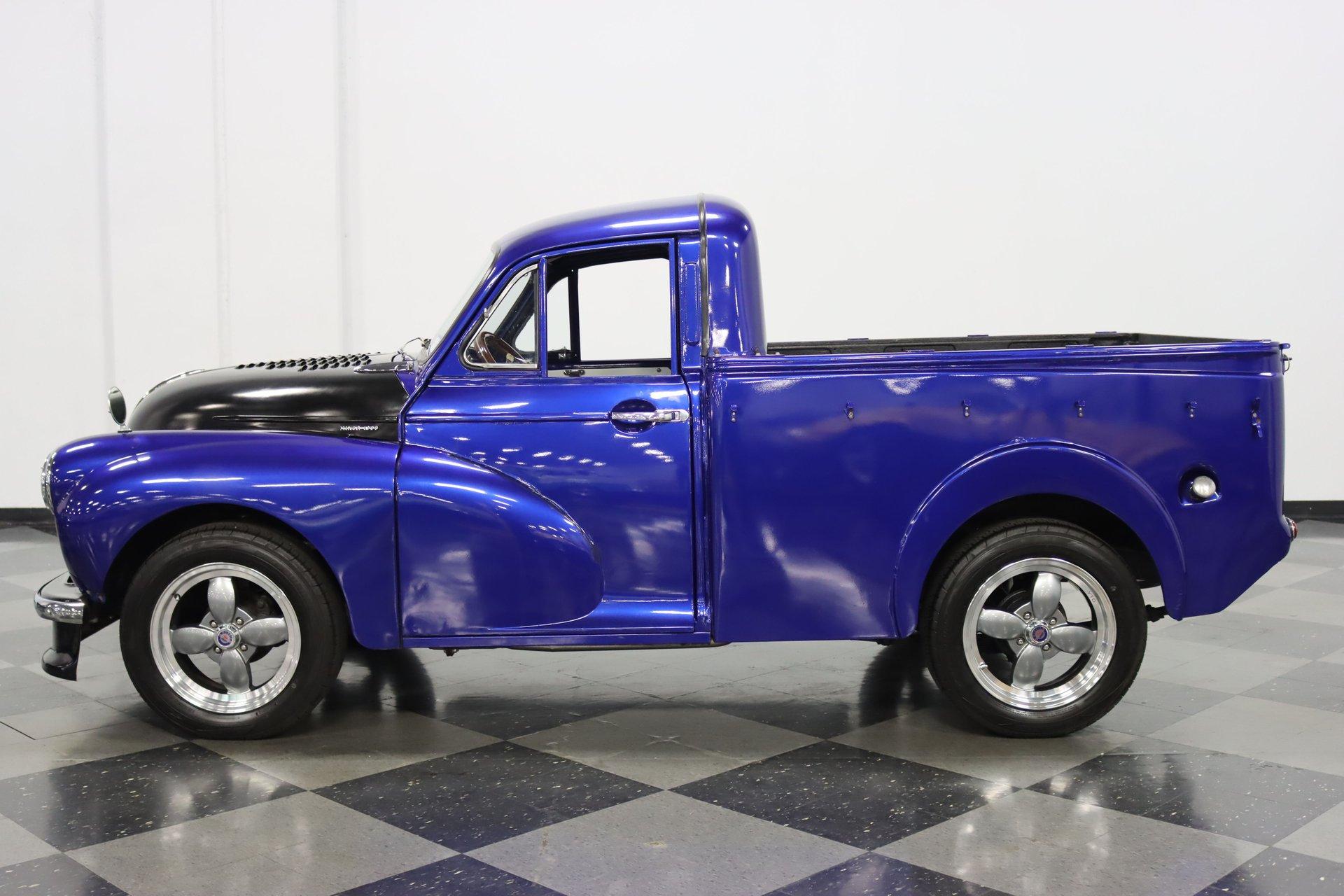 1958 morris minor 1000 1 4 ton pickup