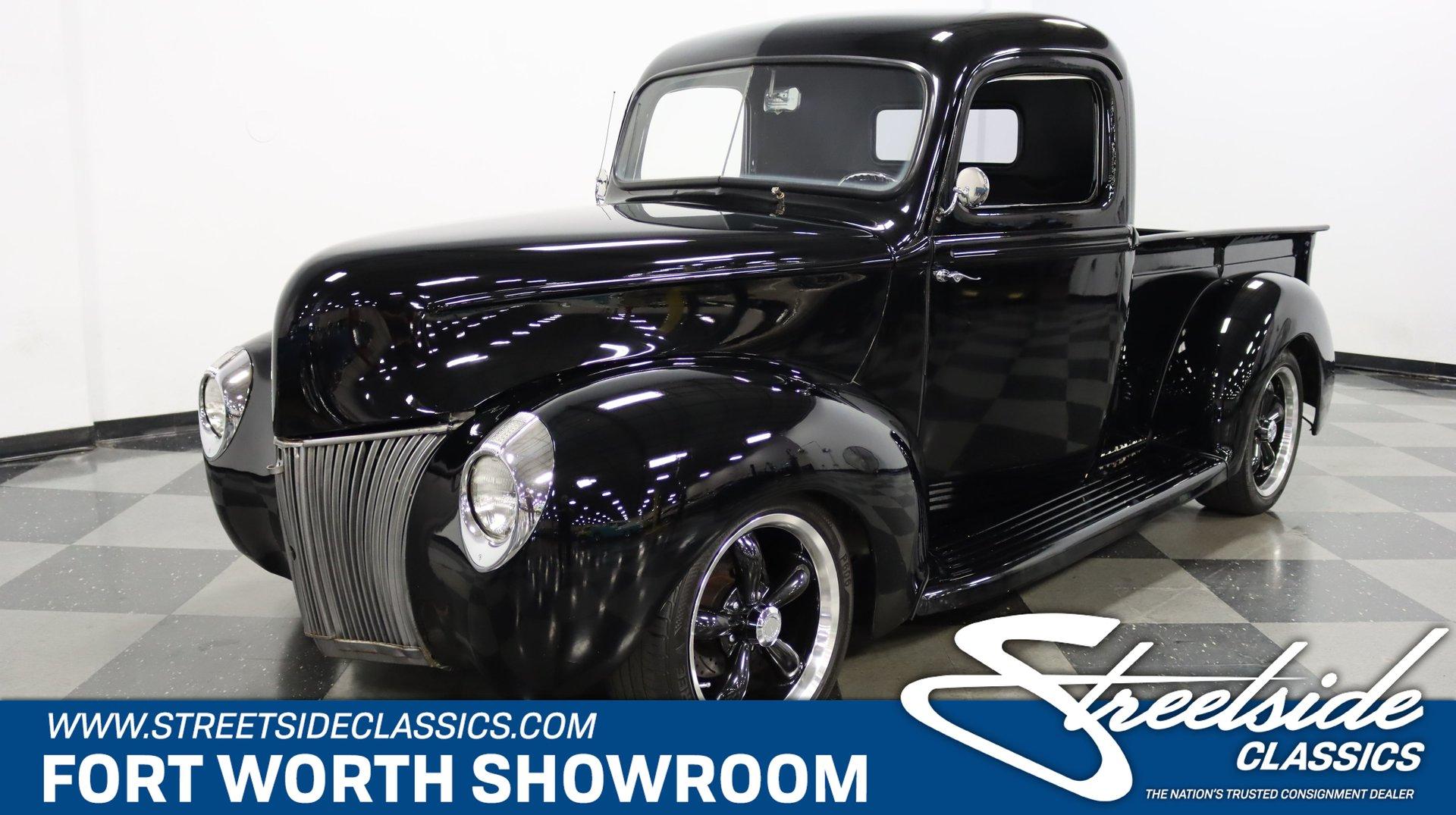 1941 ford pickup resto mod