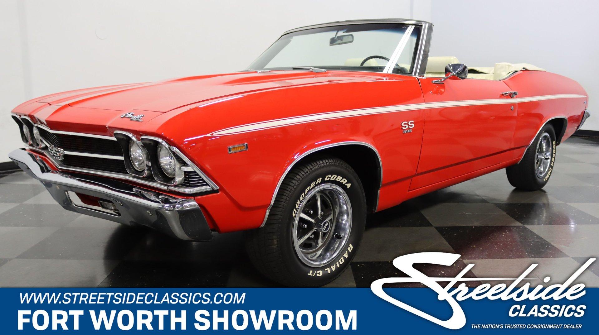 1969 chevrolet chevelle ss 396 convertible clone