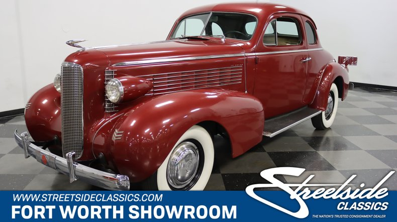 For Sale: 1937 LaSalle Coupe