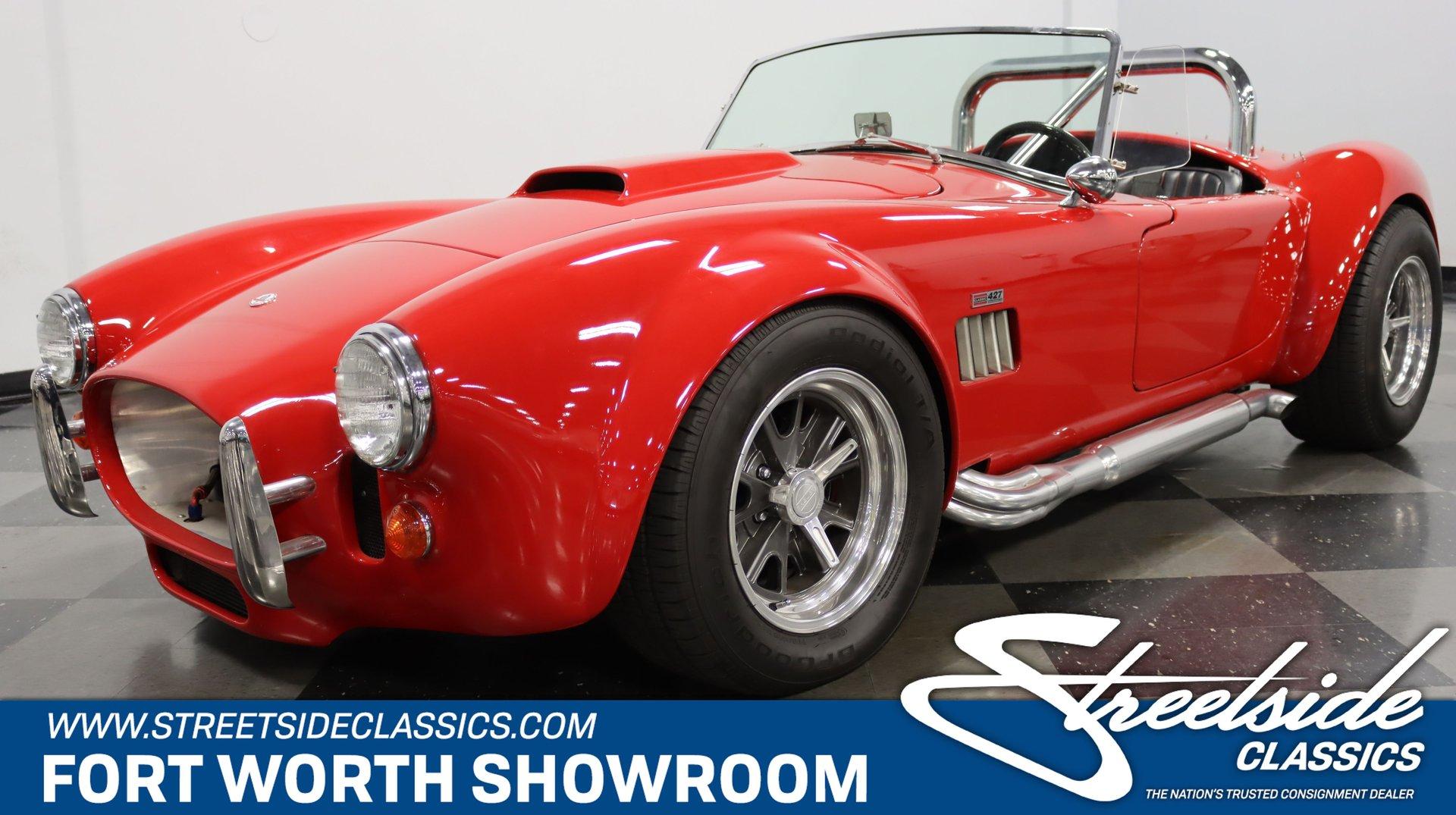1966 shelby cobra classic roadster ltd