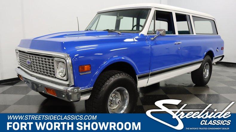For Sale: 1971 Chevrolet Suburban