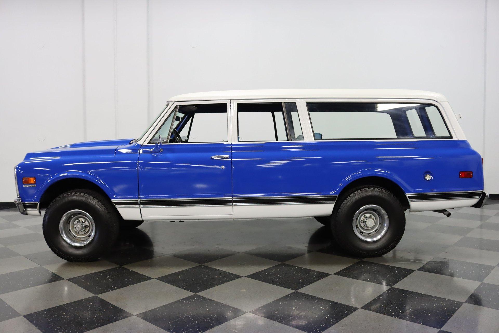 1971 chevrolet suburban 4x4