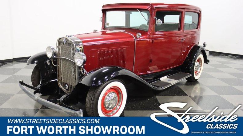 For Sale: 1931 Chevrolet Sedan