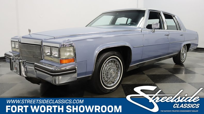 For Sale: 1984 Cadillac Fleetwood