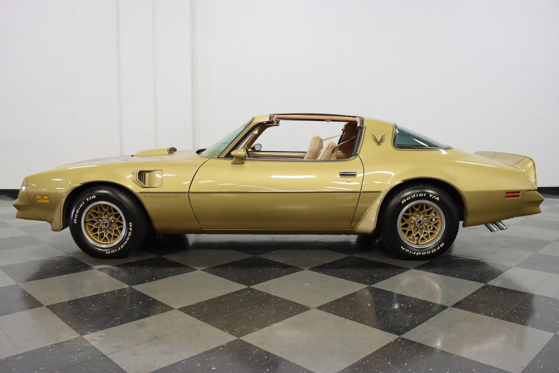 1978 pontiac firebird trans am y88 special gold edition