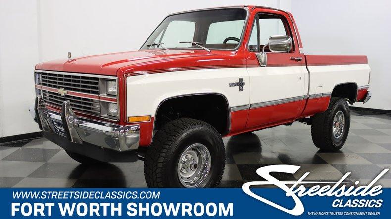 For Sale: 1984 Chevrolet K10