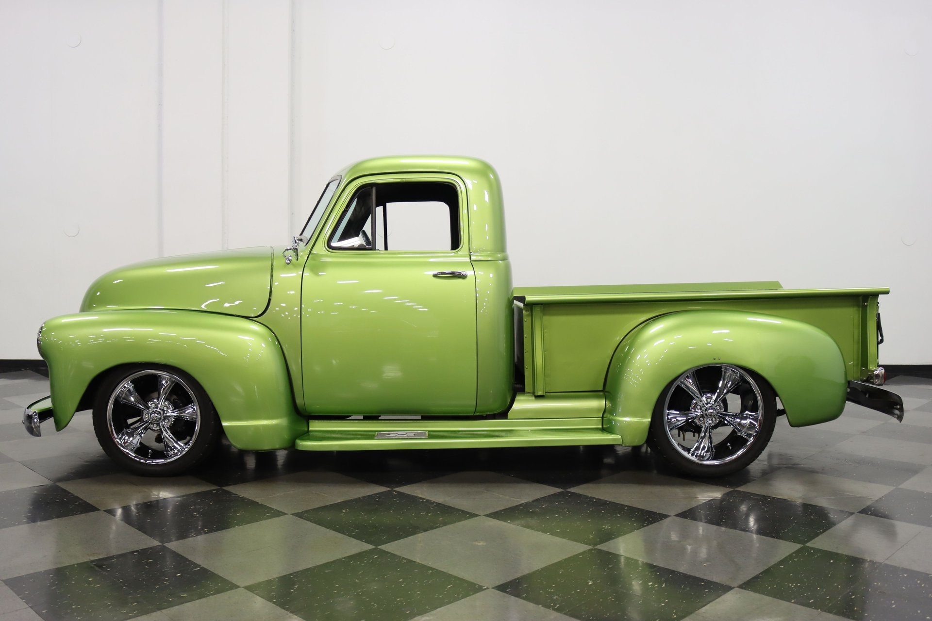 1952 chevrolet 3100 3 window