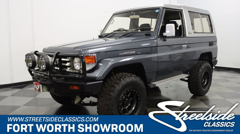 For Sale: 1990 Toyota Land Cruiser