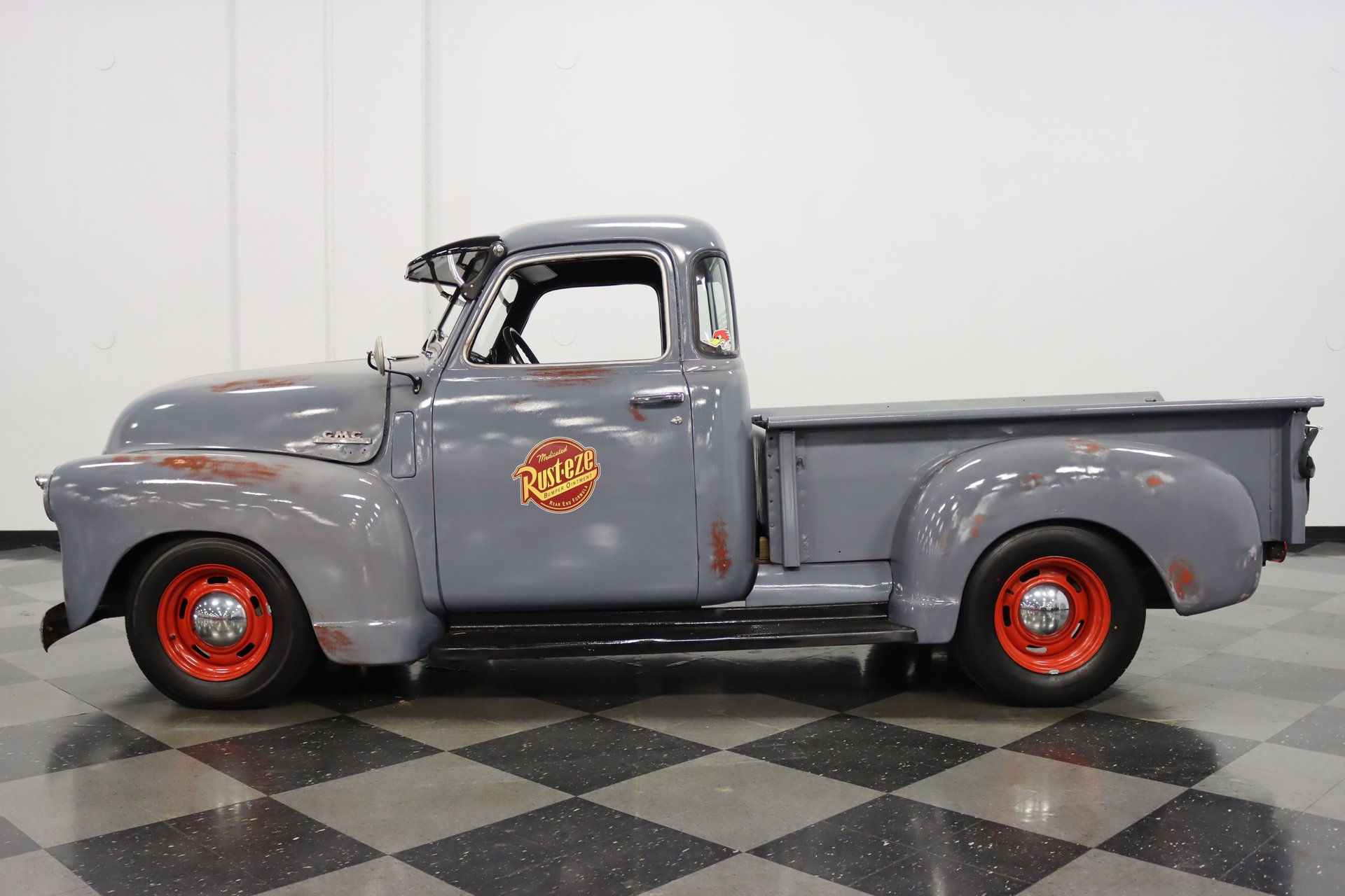 1950 gmc 5 window pickup