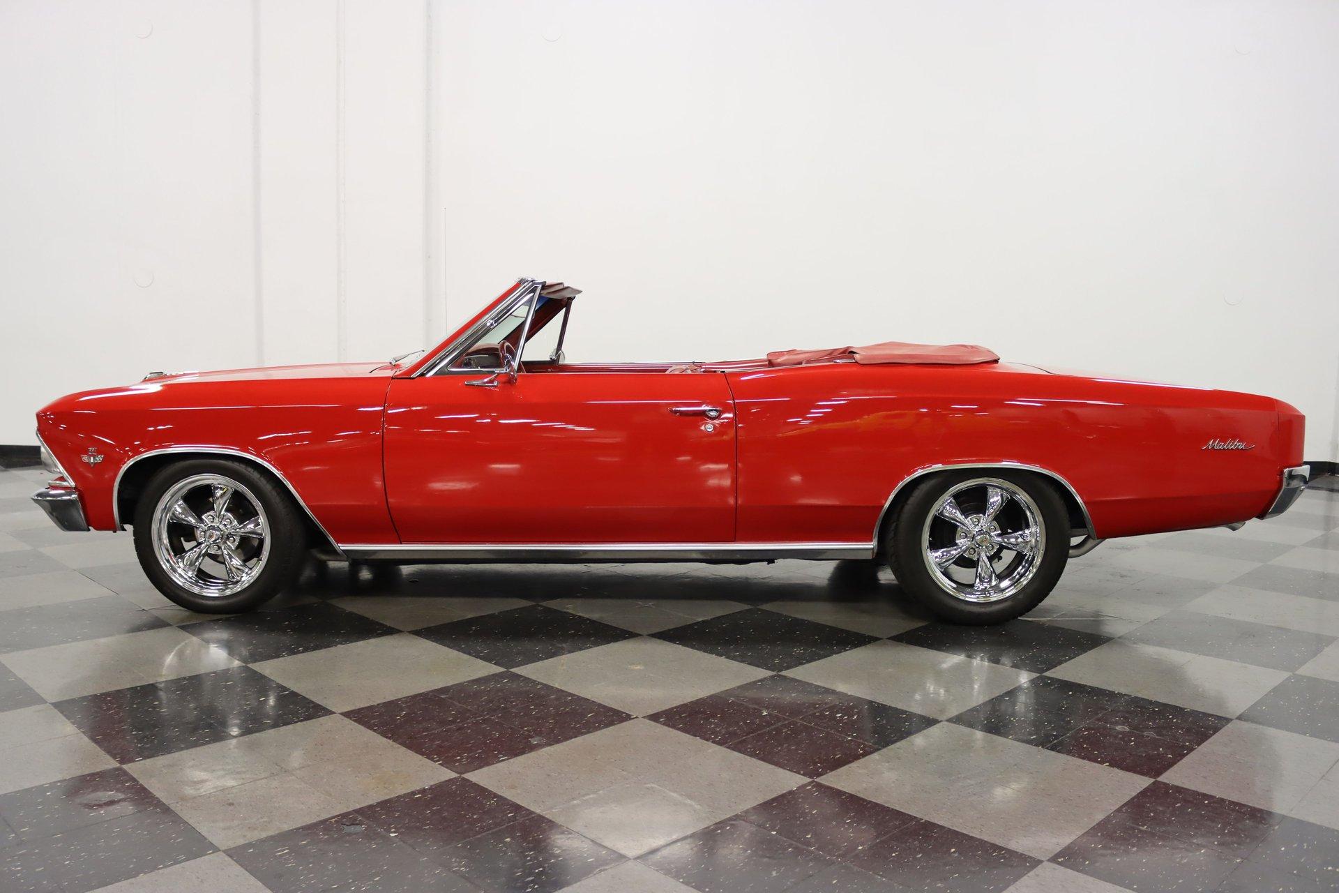 1966 chevrolet chevelle malibu convertible