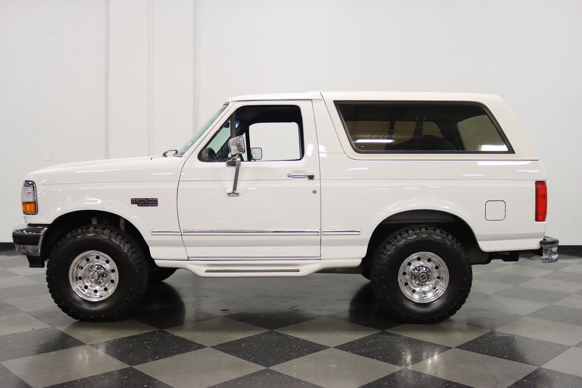 1996 ford bronco xlt 4x4 supercharged
