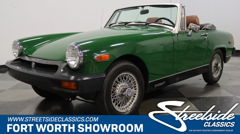 For Sale: 1977 MG Midget
