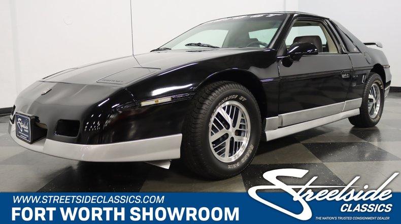 For Sale: 1985 Pontiac Fiero