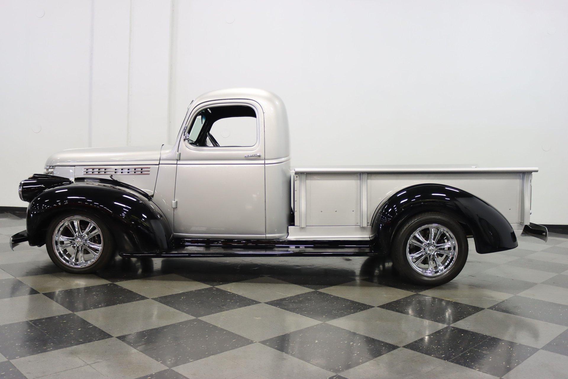 1946 chevrolet 3 window pickup resto mod