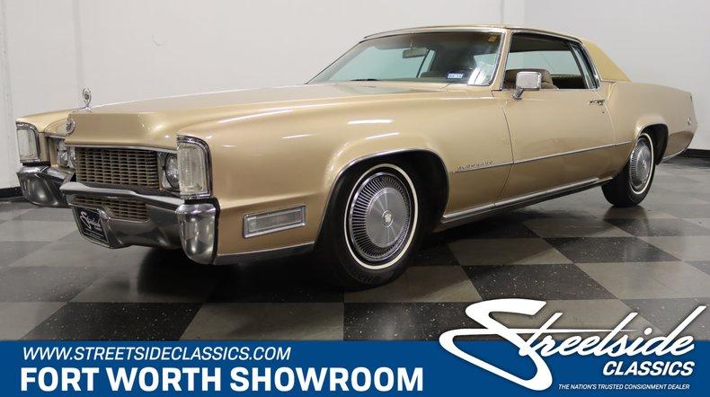 For Sale: 1969 Cadillac Eldorado