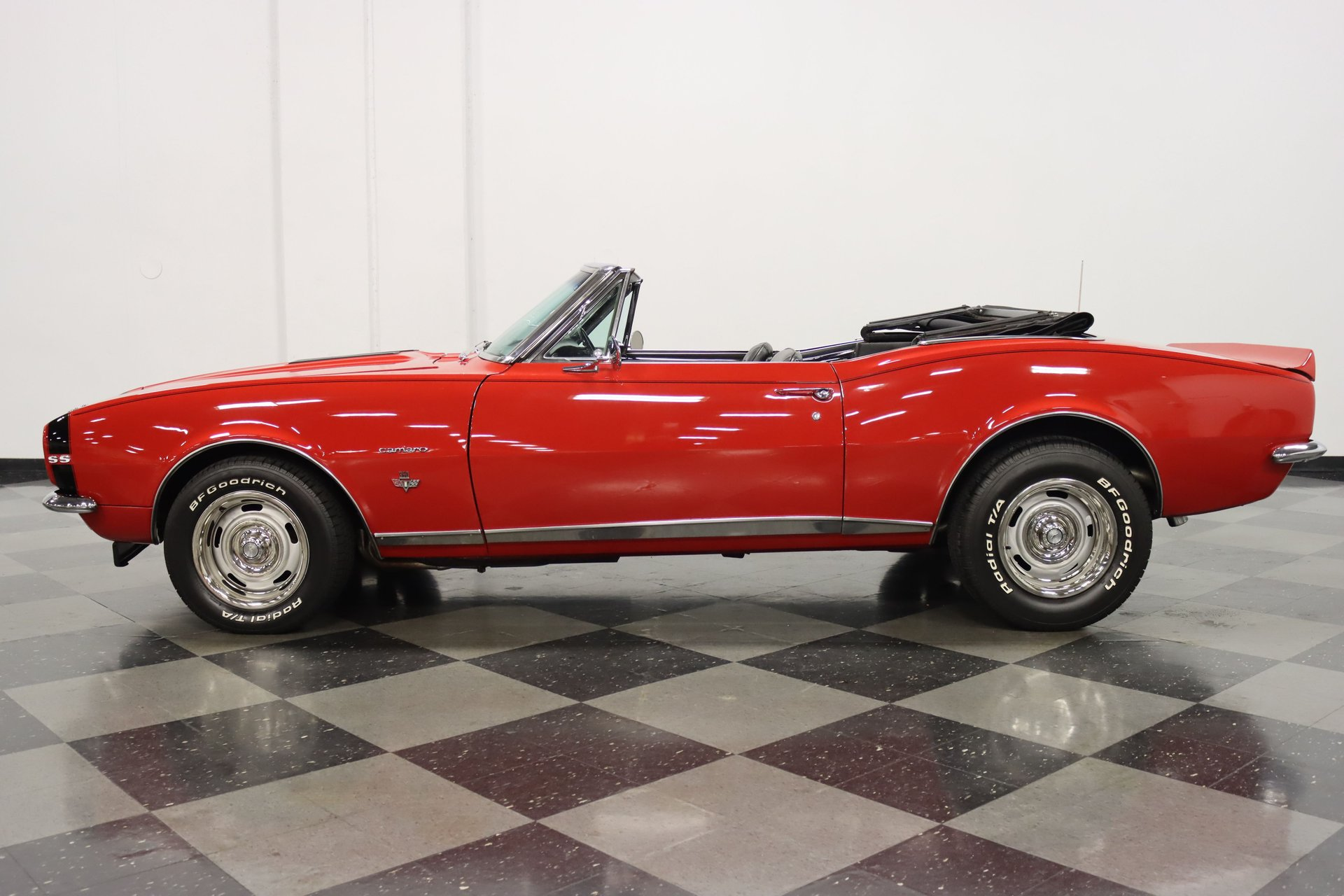 1967 chevrolet camaro rs ss convertible tribute