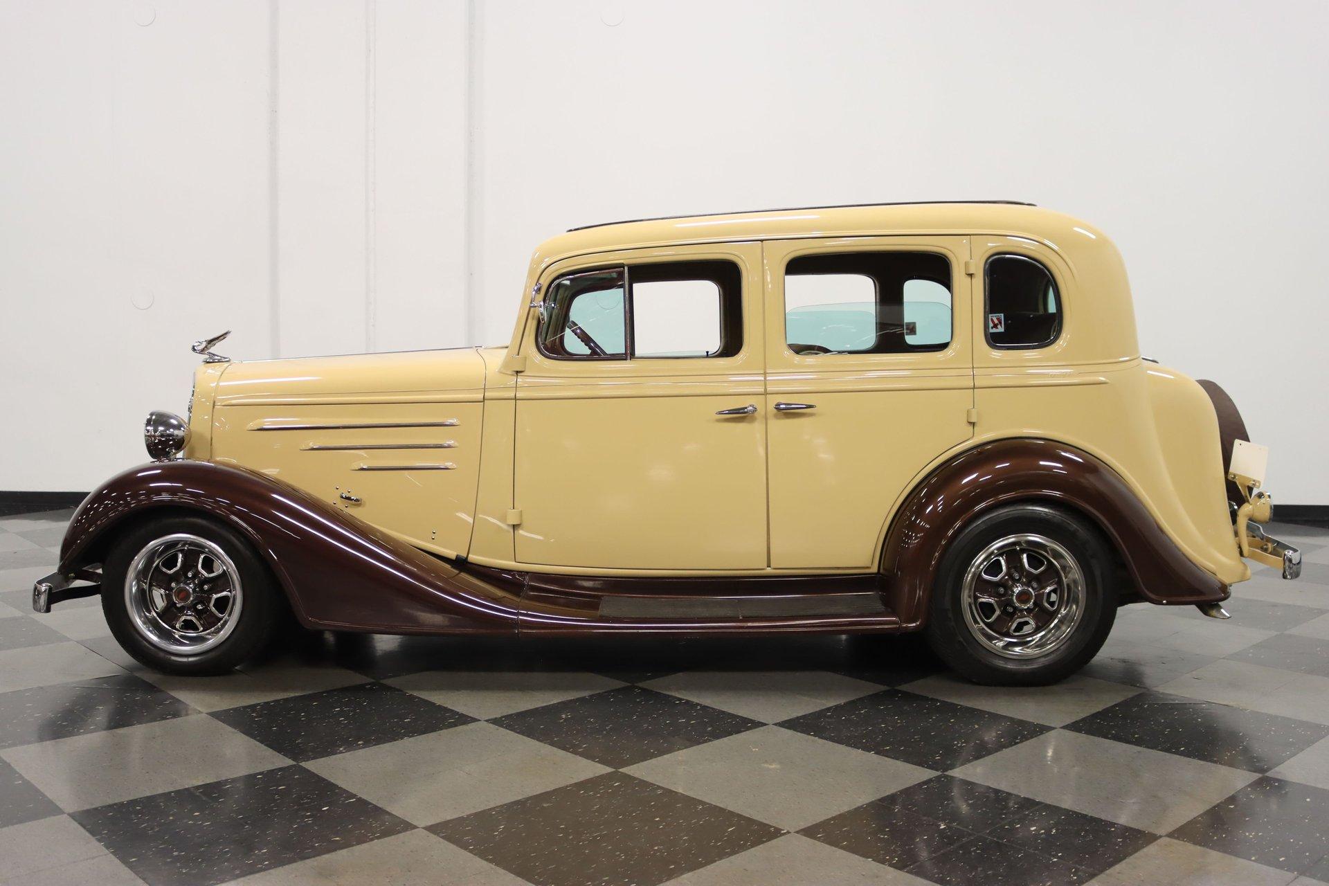 1934 chevrolet master sedan streetrod
