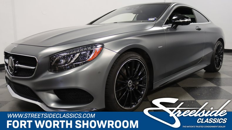 For Sale: 2017 Mercedes-Benz S 550
