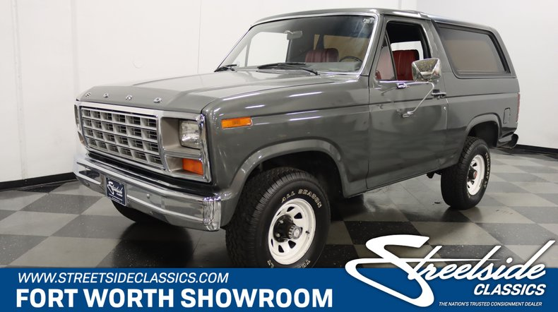 For Sale: 1980 Ford Bronco