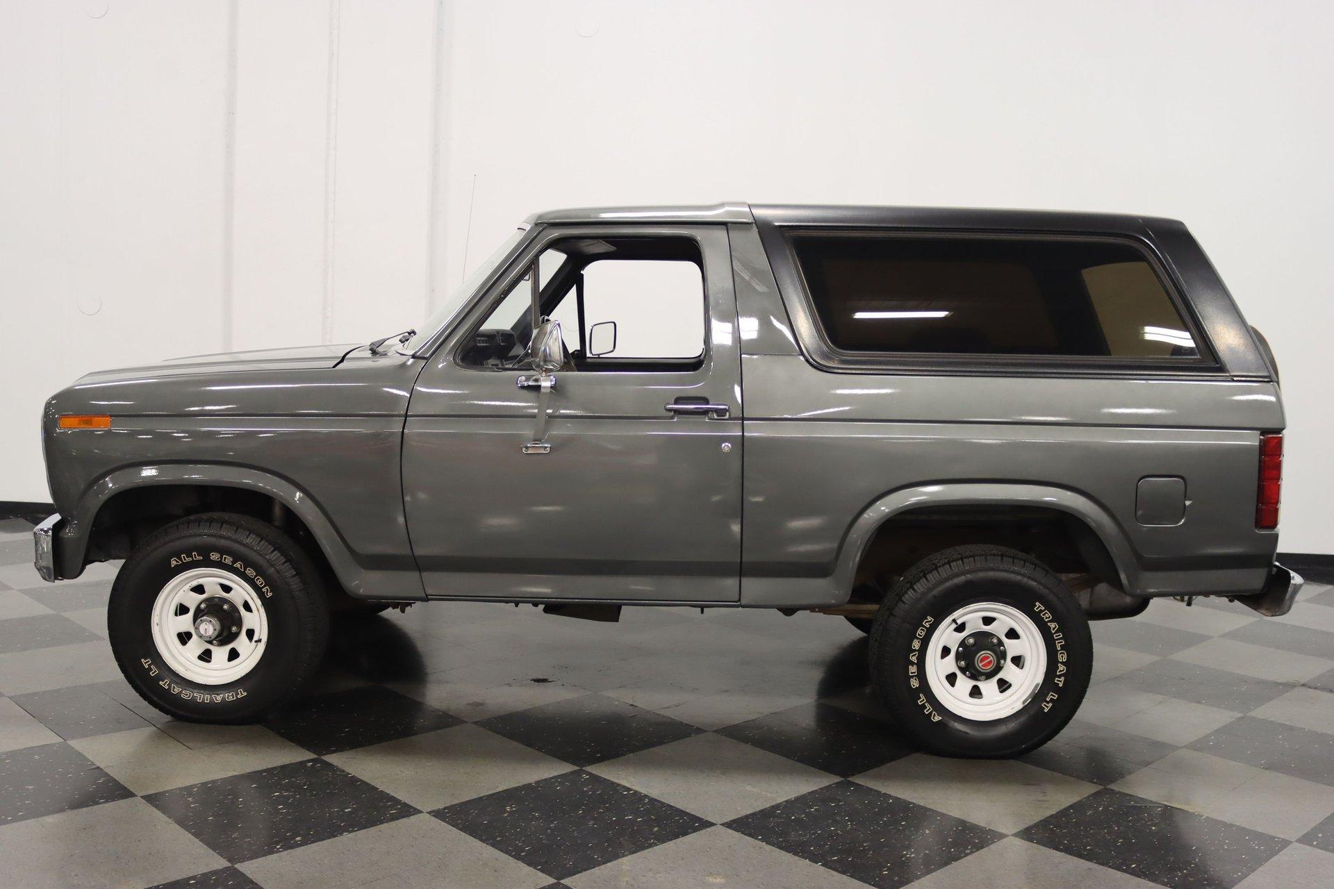 1980 ford bronco 4x4 custom