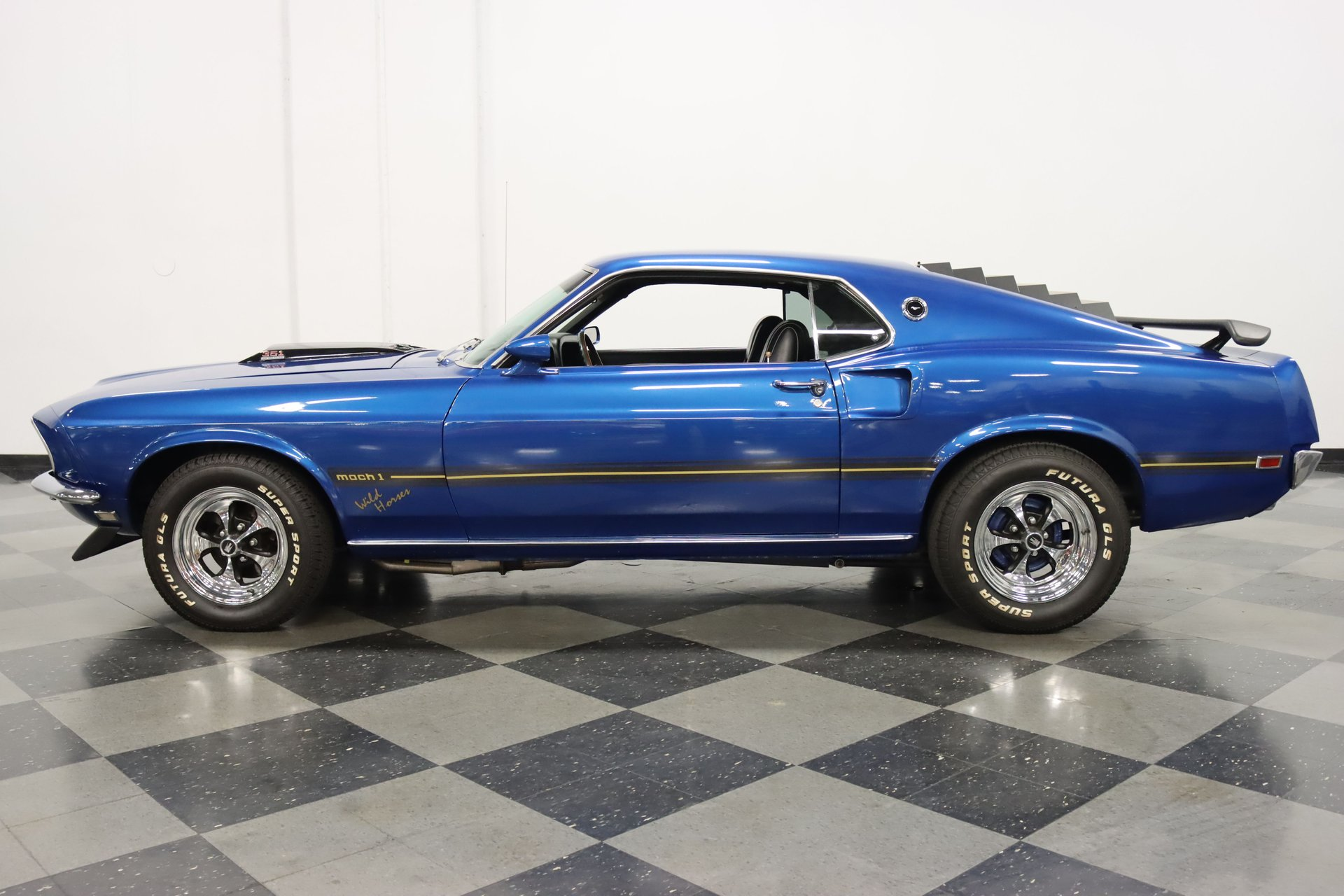 1969 ford mustang mach 1 tribute