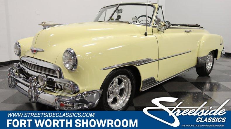 For Sale: 1951 Chevrolet Styleline Deluxe