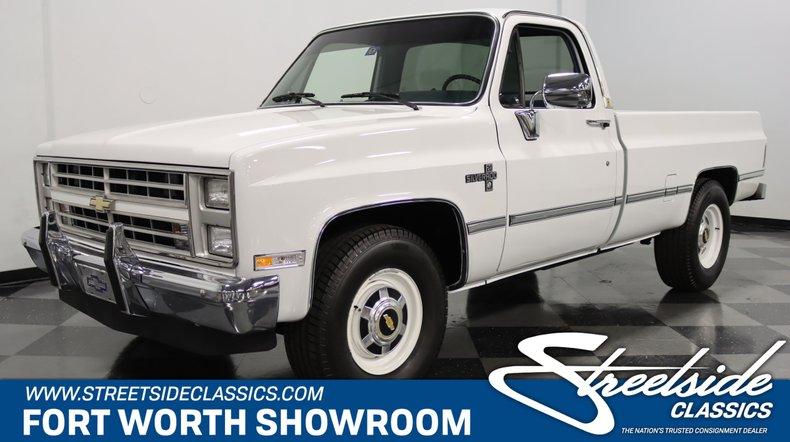 For Sale: 1986 Chevrolet C20