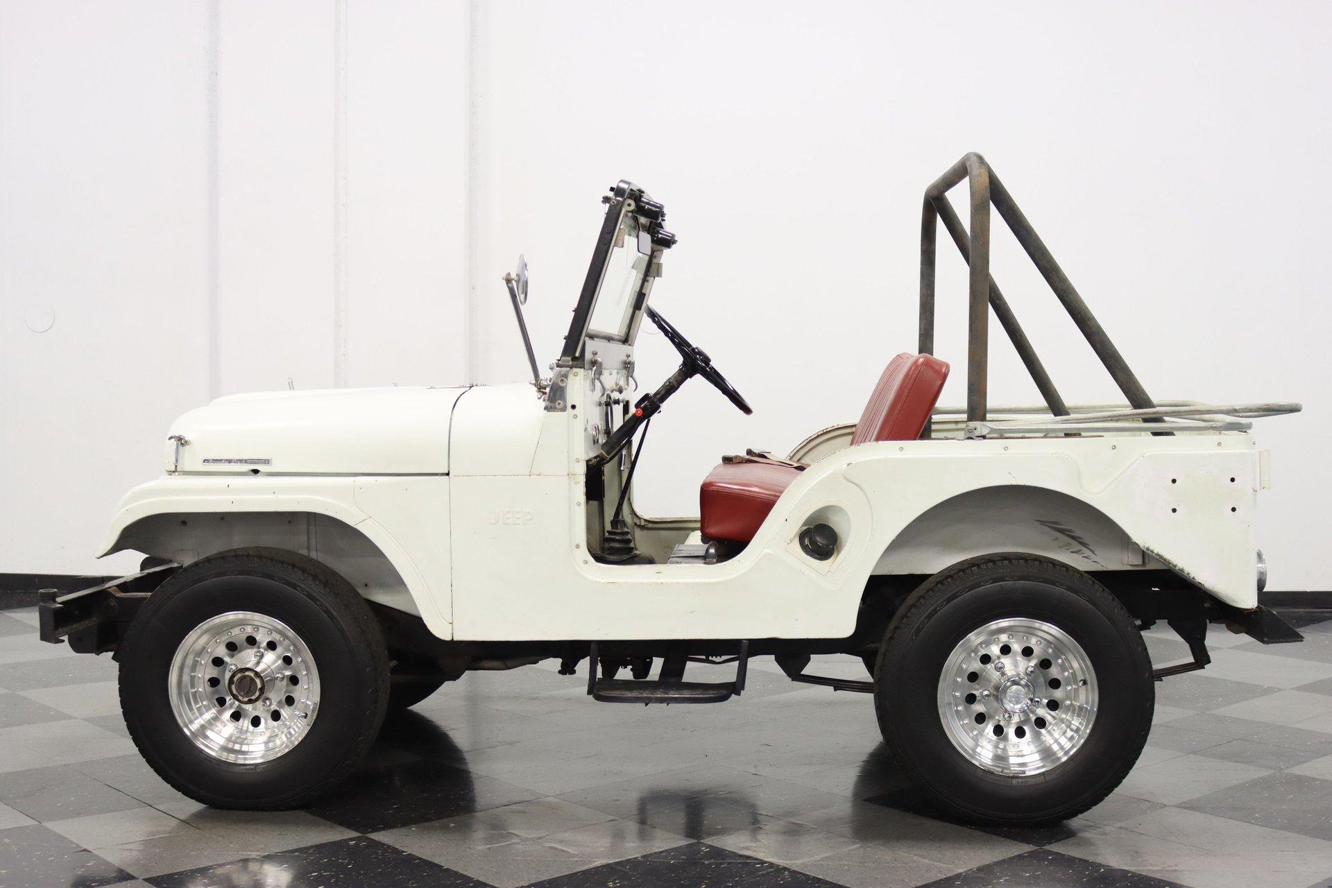1965 jeep cj5 tuxedo park mark iv