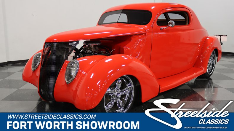For Sale: 1937 Ford 3-Window
