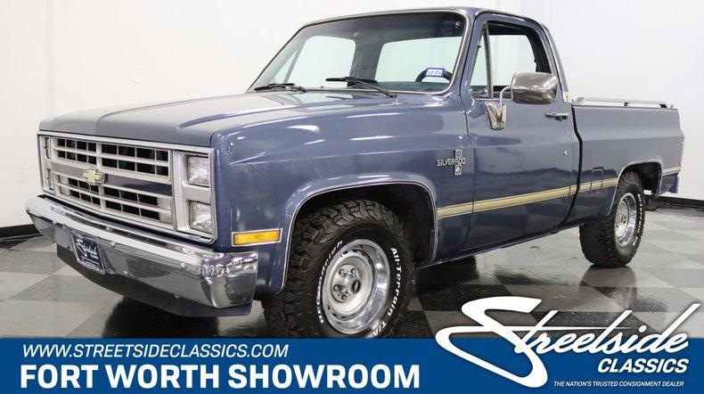 For Sale: 1986 Chevrolet C10