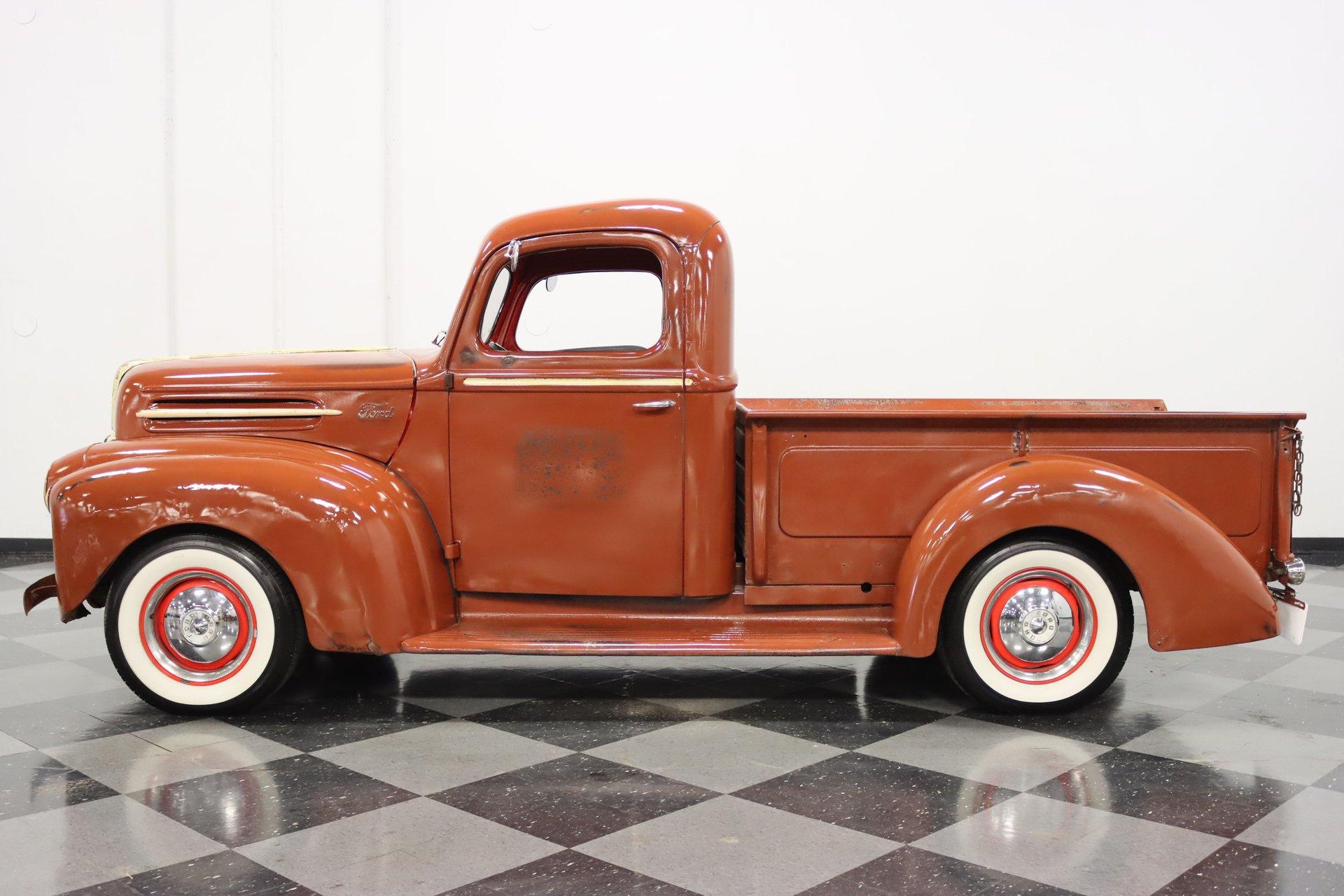 1946 ford 3 window pickup