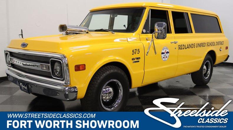For Sale: 1969 Chevrolet Suburban