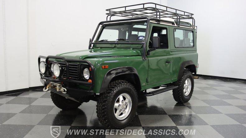 For Sale: 1997 Land Rover Defender
