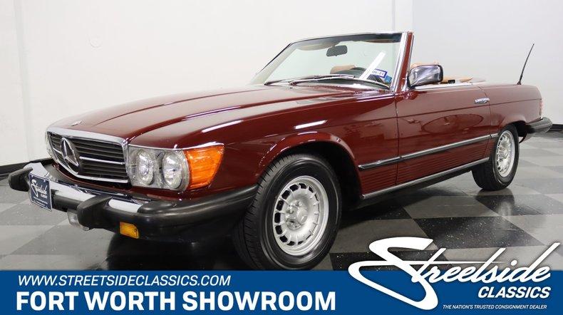 For Sale: 1984 Mercedes-Benz 380SL
