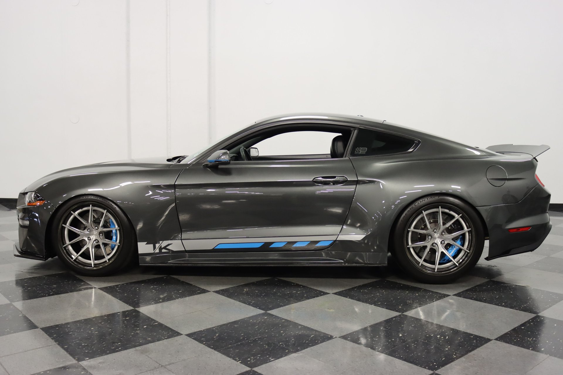 2018 ford mustang petty track king