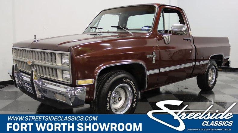 For Sale: 1982 Chevrolet C10