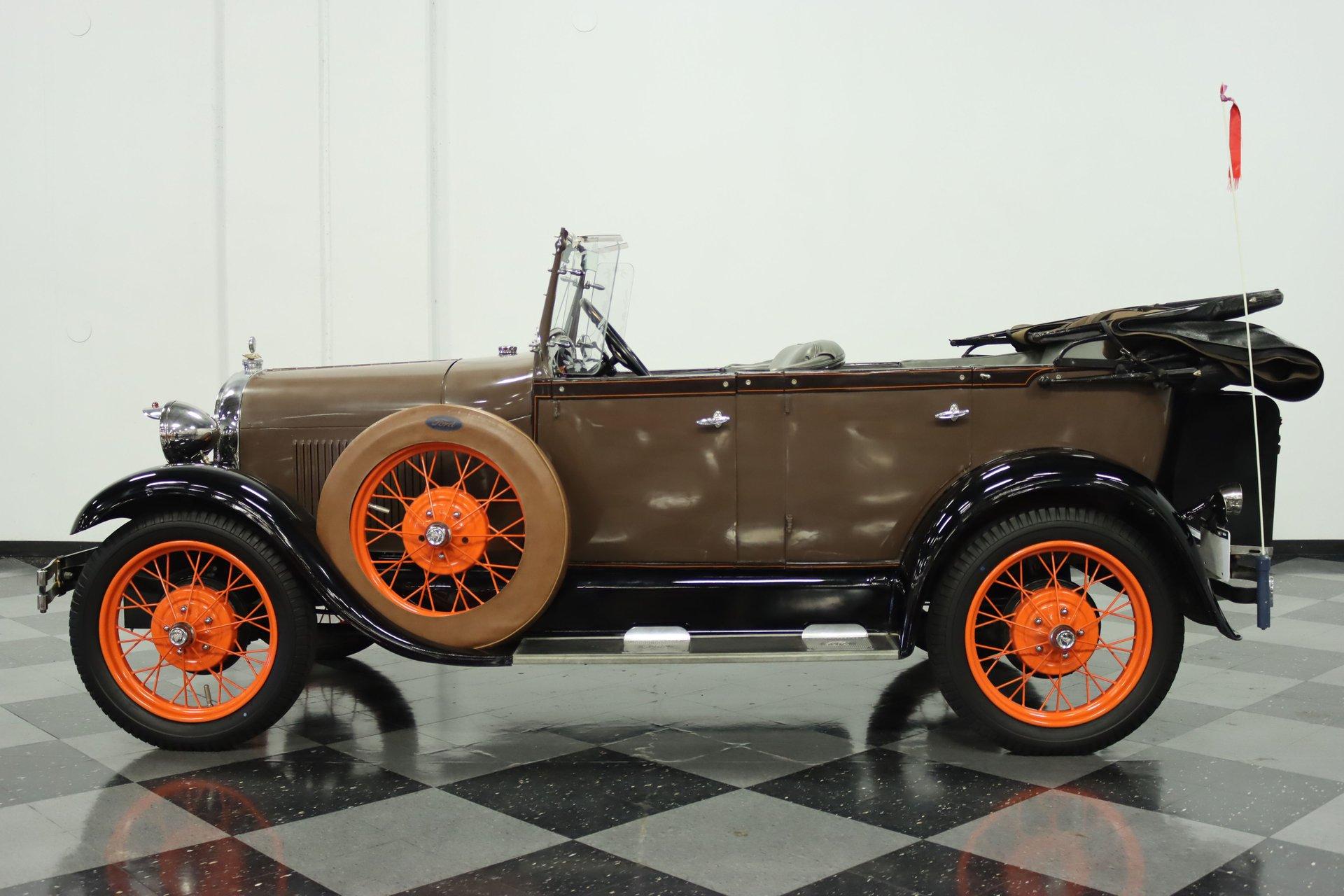 1929 ford model a phaeton