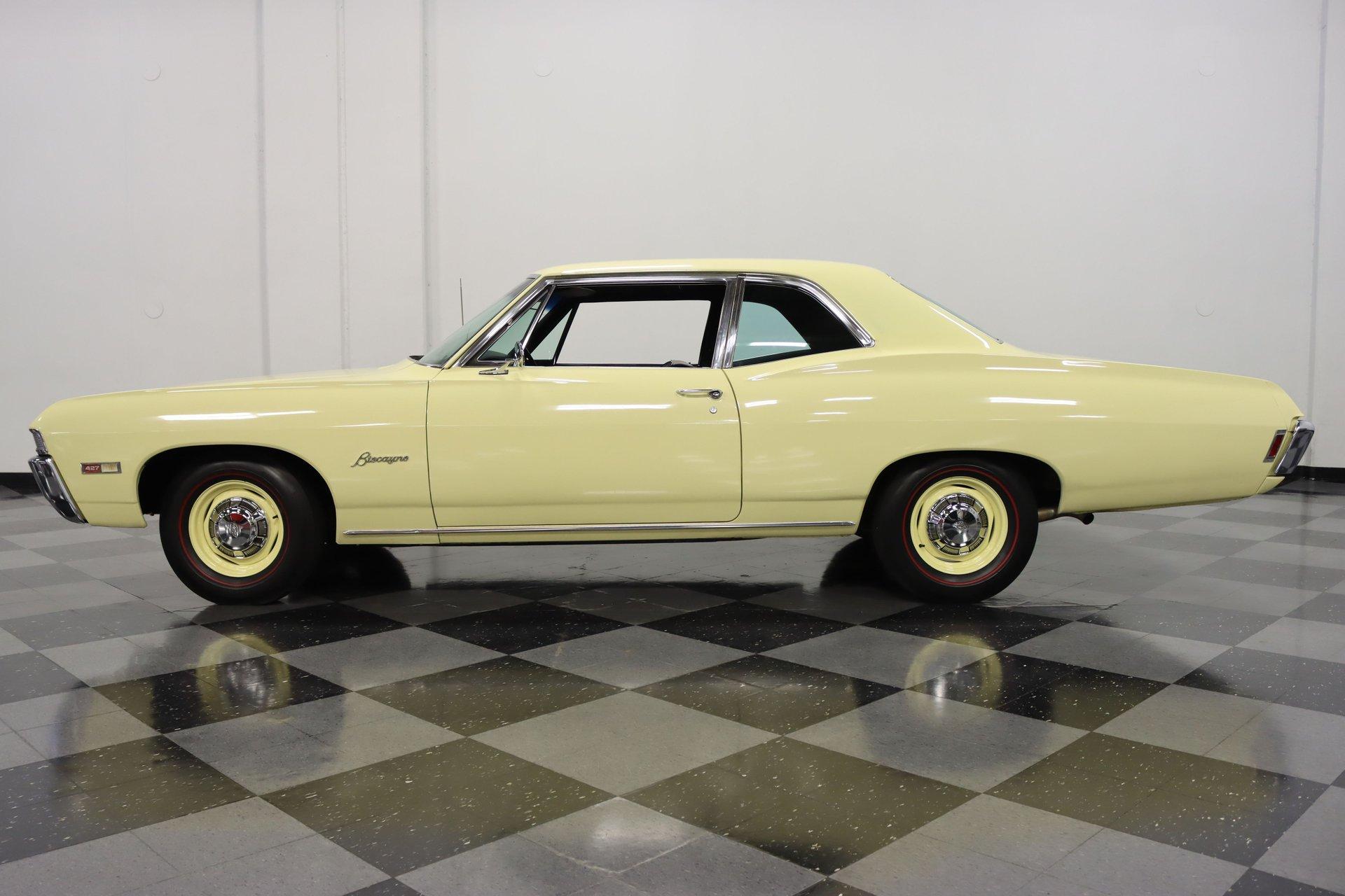 1968 chevrolet biscayne l72
