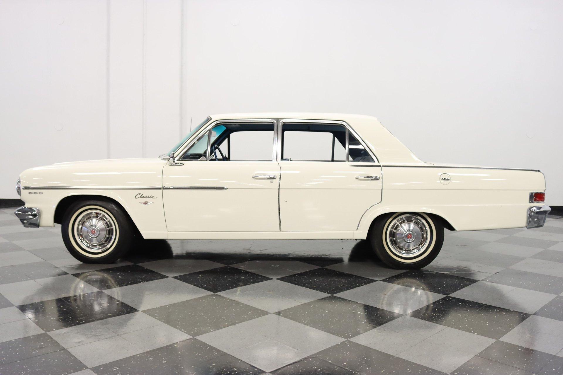1965 amc rambler classic 660