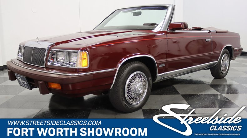 For Sale: 1986 Chrysler LeBaron