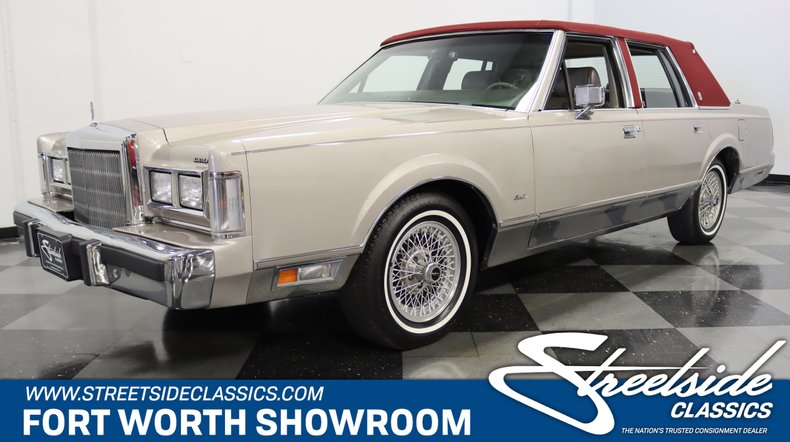 For Sale: 1988 Lincoln Town Car
