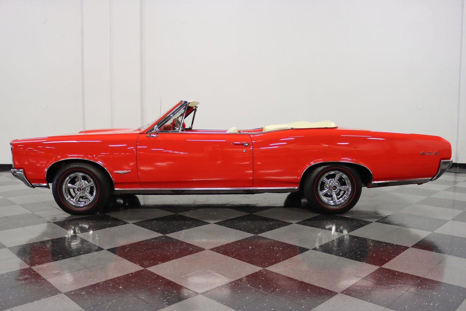 1966 pontiac lemans gto tribute convertible